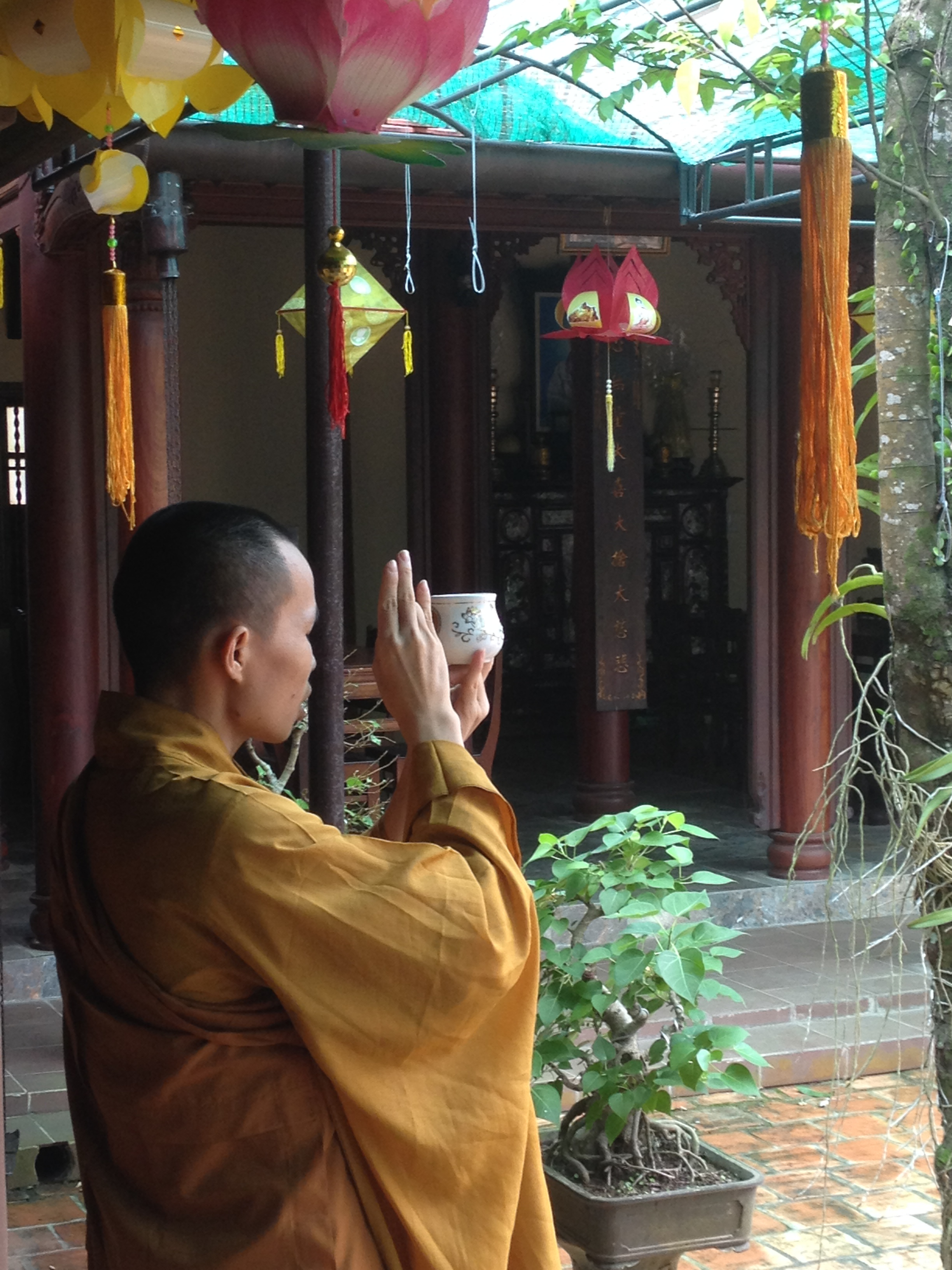 how to become a zen buddhist monk